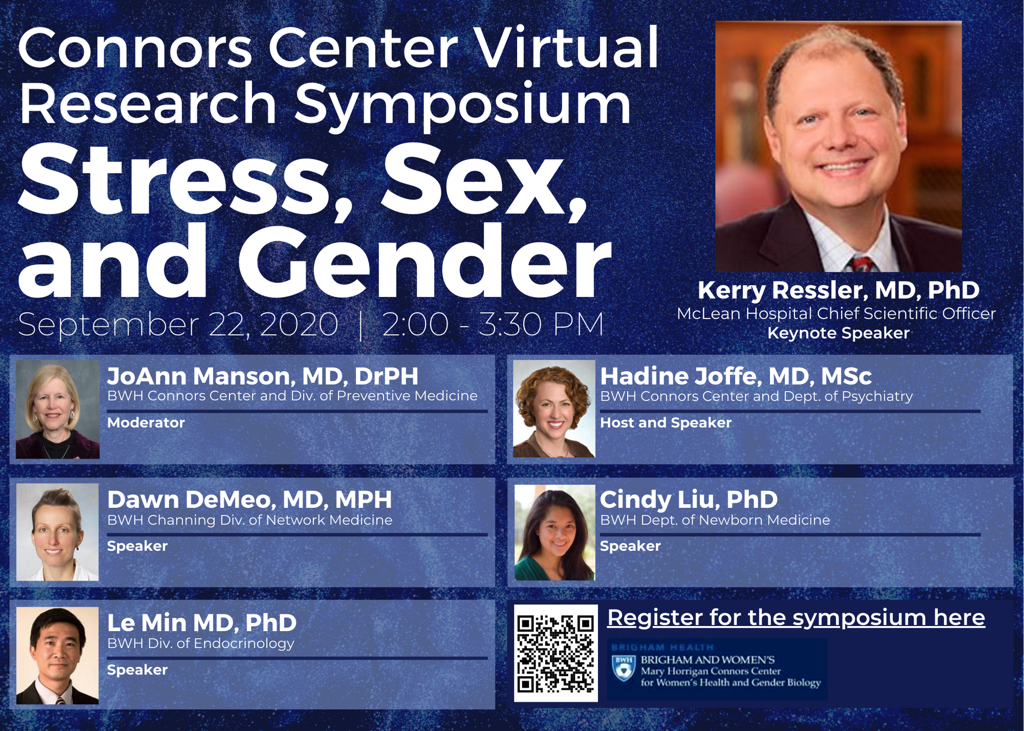 Virtual Research Symposium: Stress, Sex, And Gender